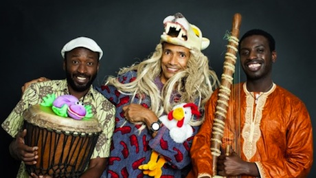 Moussa Diallo Trio för familjen