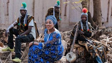 Positiv Mix i Beijers Park, samskapande och konsert med Badenya (Mali)